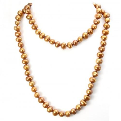 Sautoir Paquita en perles d'eau douce