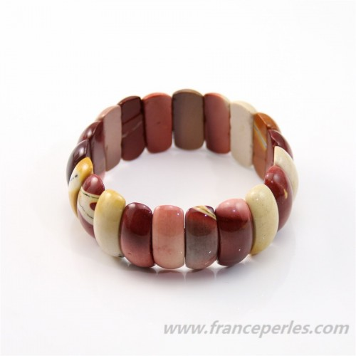 Bracelet  Jaspe Mokaite
