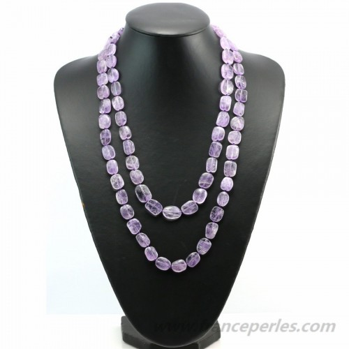 Necklace Baroque Ametrine 120cm