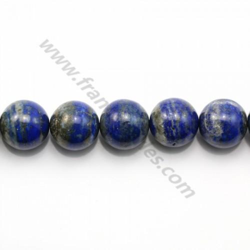 Lapis lazuli rond 18mm x 40cm