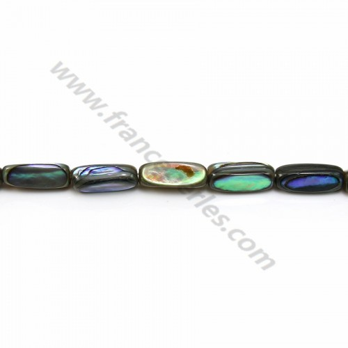 Nacre abalone tube 4x13mm x 40cm