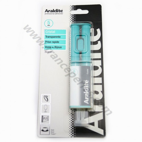Colle Araldite, colle cristal professionnelle x 1pc