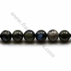 Natural Grey Opal Beads 8mm x 40cm