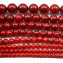 bamboo mer teinte rouge Rond