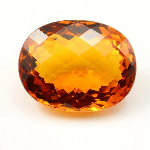 Citrine oval 40.5 x 32 mm 152.82CTS