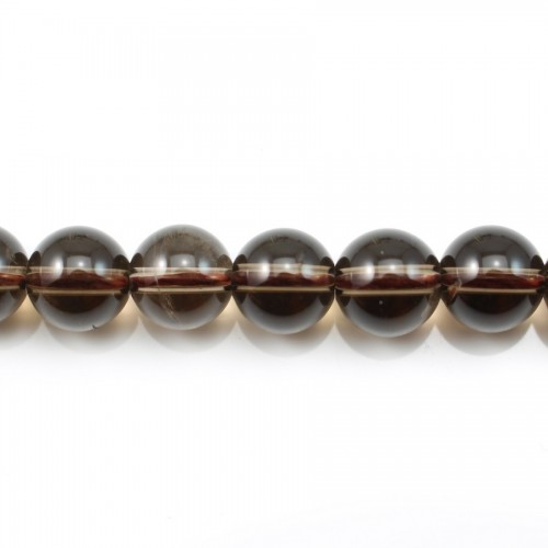 Smoky Quartz Round 8mm X 40cm