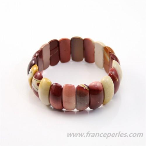 Bracelet  Jasper Mokaite