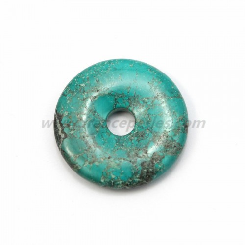Turquoise donut 40mm*8.5mm*6.2mm
