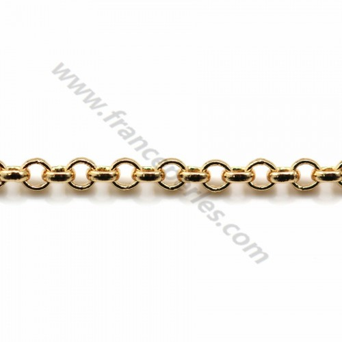 Jaseron chain golden flash 2mm x 1M