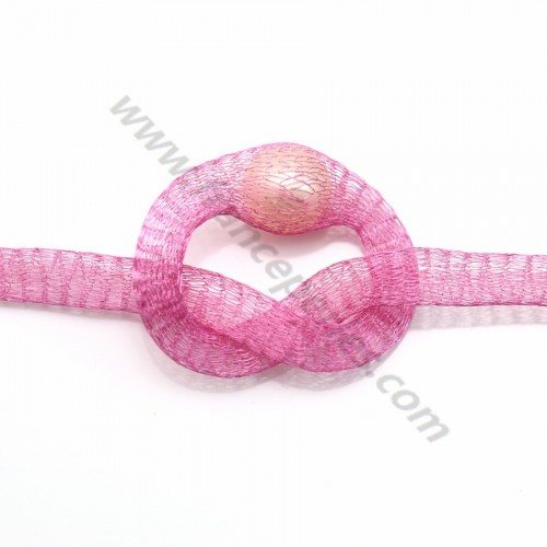 Wire mesh 6mm pink x 91.4cm