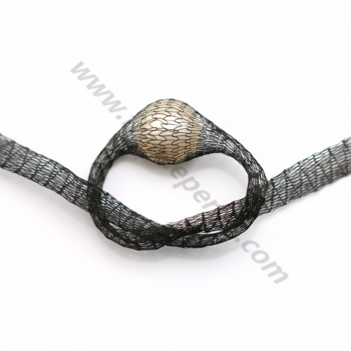 Wire mesh 6mm black x 91.4cm