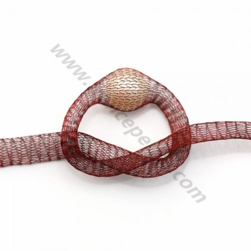 Wire mesh 6mm garnet x 91.4cm