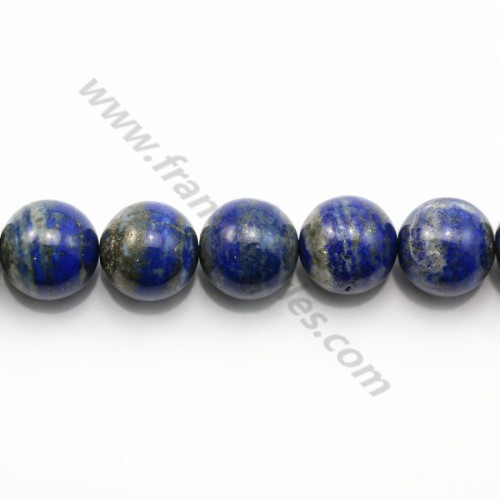 Lapis lazuli round 18mm x 40cm