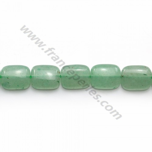 Aventurine rectangle 8x10mm x 40cm