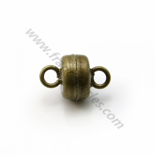 Golden tone Springing clasp 9mm  x 4pcs