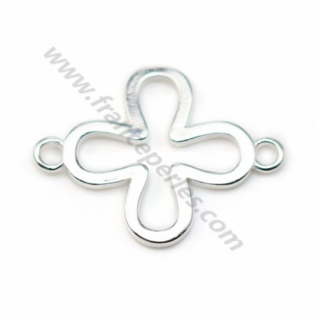 925 sterling silver intercalary star 12*17mm x 1pc