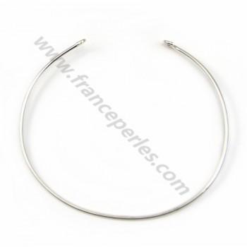 Argent 925 bracelet réglable 65mm x 1pc