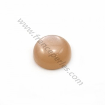 Cabochon Moonstone Round 4mm x 1pc