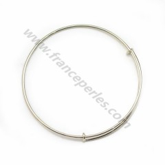 Adjustable bracelet in silver 925, measuring 57mm, x 1pc