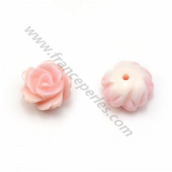 String of White Shell Clover 12 mm X 1pc