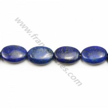 Lapis lazuli oval 10*14mm x 40cm