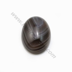 Cabochon of crystal rock, in round shape, 2mm x 4 pcs