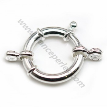 Silver 925 Spring Clasp 20mm X 1 pc