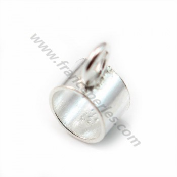 925 Sterling Silver charm strap 5mm X2 pcs