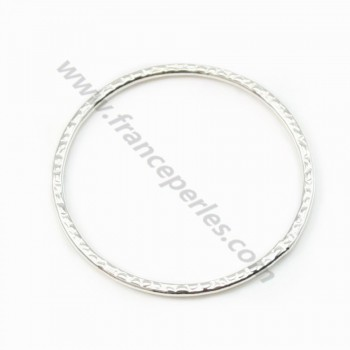 Silver 925  Round Rings 24mm X 1pc