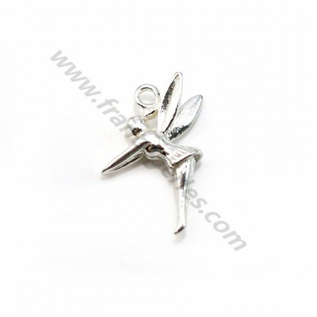 925 sterling silver fairytale charm 8mm x 2pcs