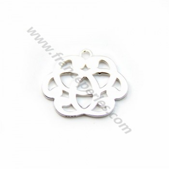 925 sterling silver celtic ,13.5x16mm x 1pc