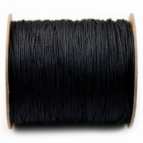 black Thread polyester 1mm X 120 m
