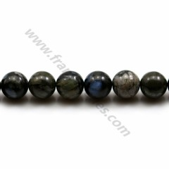 Natural Grey Opal Beads 8mm x 40cm