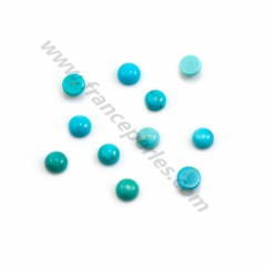 Cabochon Turquoise round 8mm x 1pc