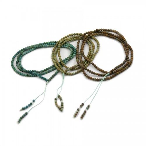 Bracelet turquoise 3 rangs