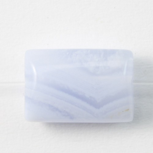 Chalcedony  Rectangle 7*10mm X 4pcs