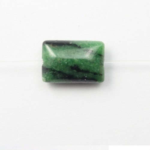 Ruby Zoisite Rectangle 10*14mm X 4 pcs